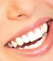 white teeth - nice smile